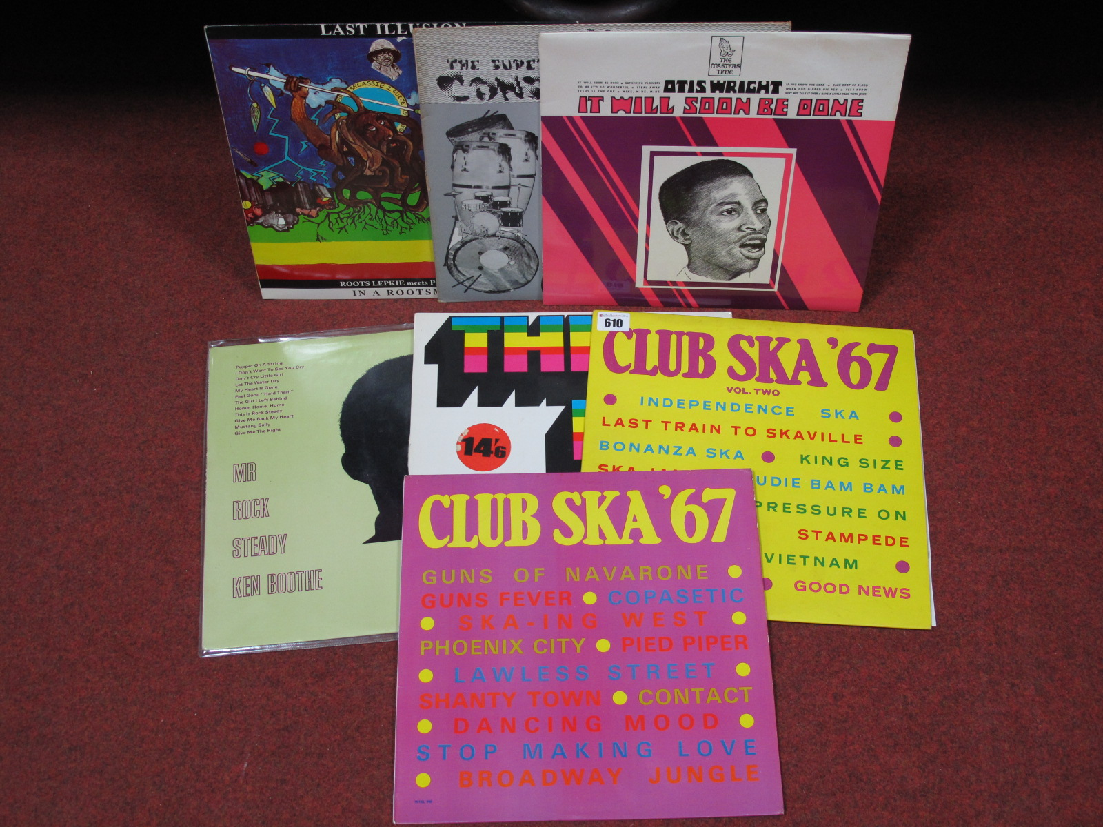 Lot 610 - Reggae Interest - to include 'Club Ska '67' (2 vols, Wirl label); 'This Is Sue' (Island compilation,