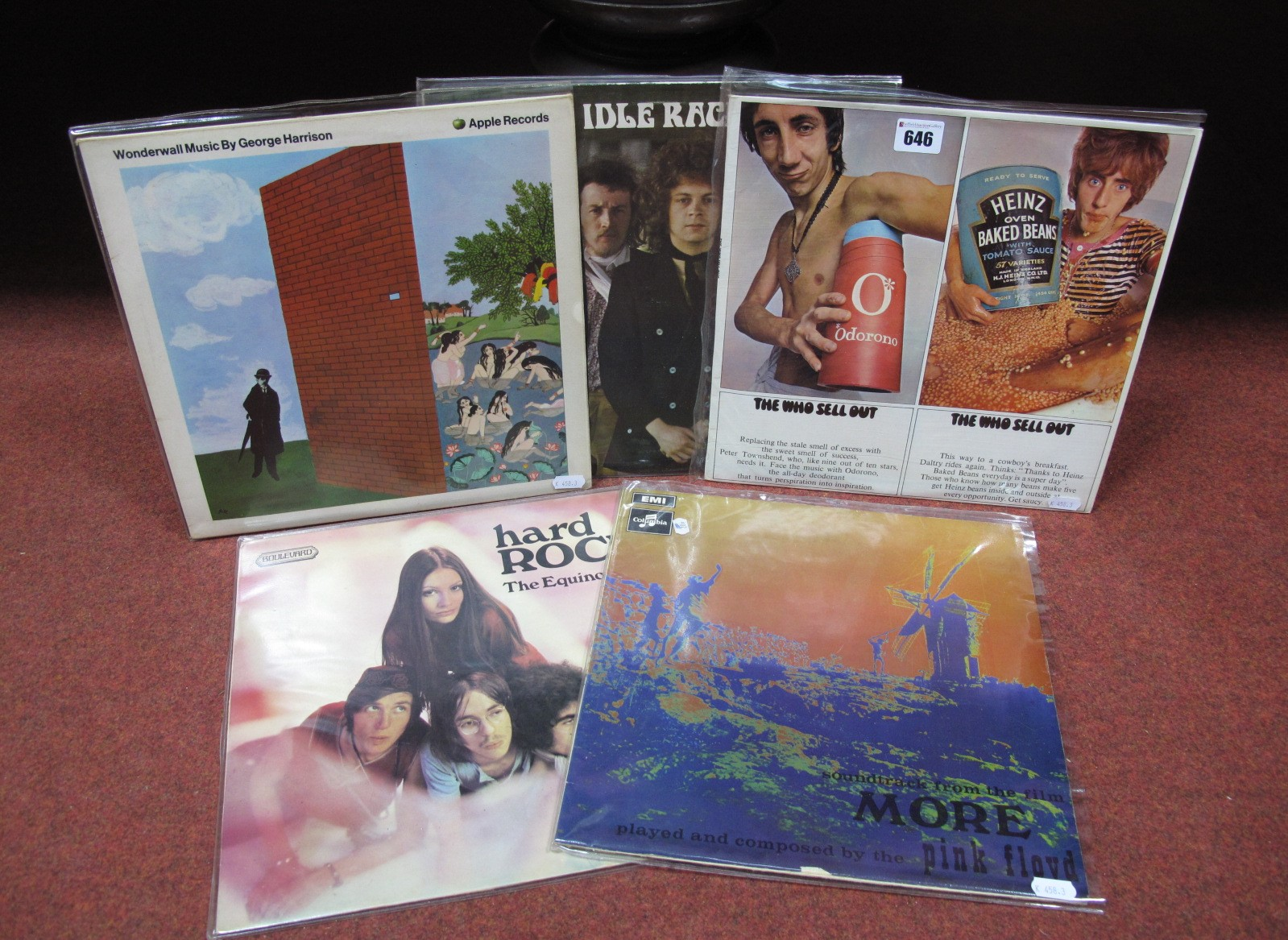 Lot 646 - UK Psych/Rock - The Who 'Sell Out' LP (Track, Stereo, 613002 A2/B1 matrix, Patent Pending E.J. Day