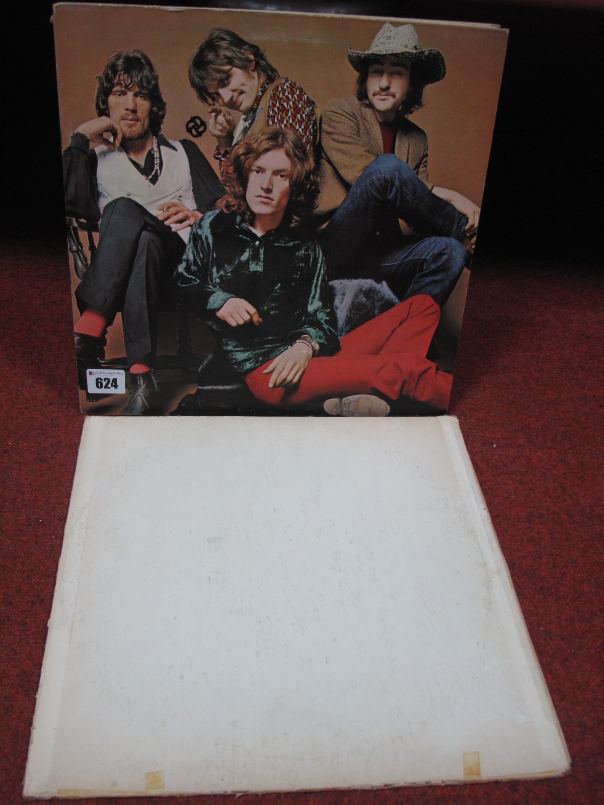Lot 624 - Traffic '2nd LP', stereo Island ILPS 9081T, Pink Rim A-3U/B-3U and an unknown White Label LP (
