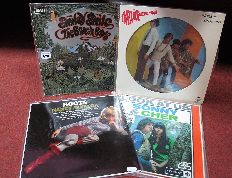Lot 625 - 60's US Interest - Beach Boys 'Smile' (Rainbow Capitol, -1/-1 matrix, mono, Patents Pending sleeve);