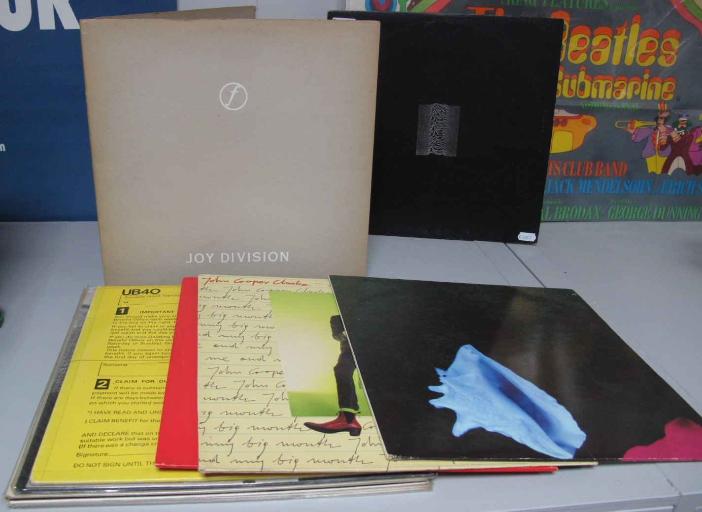 Lot 655 - Joy Division 'Still' LP, 'Unknown Pleasures' (Fact 10 'A Porky Prime Cut' on run-out), New Order '