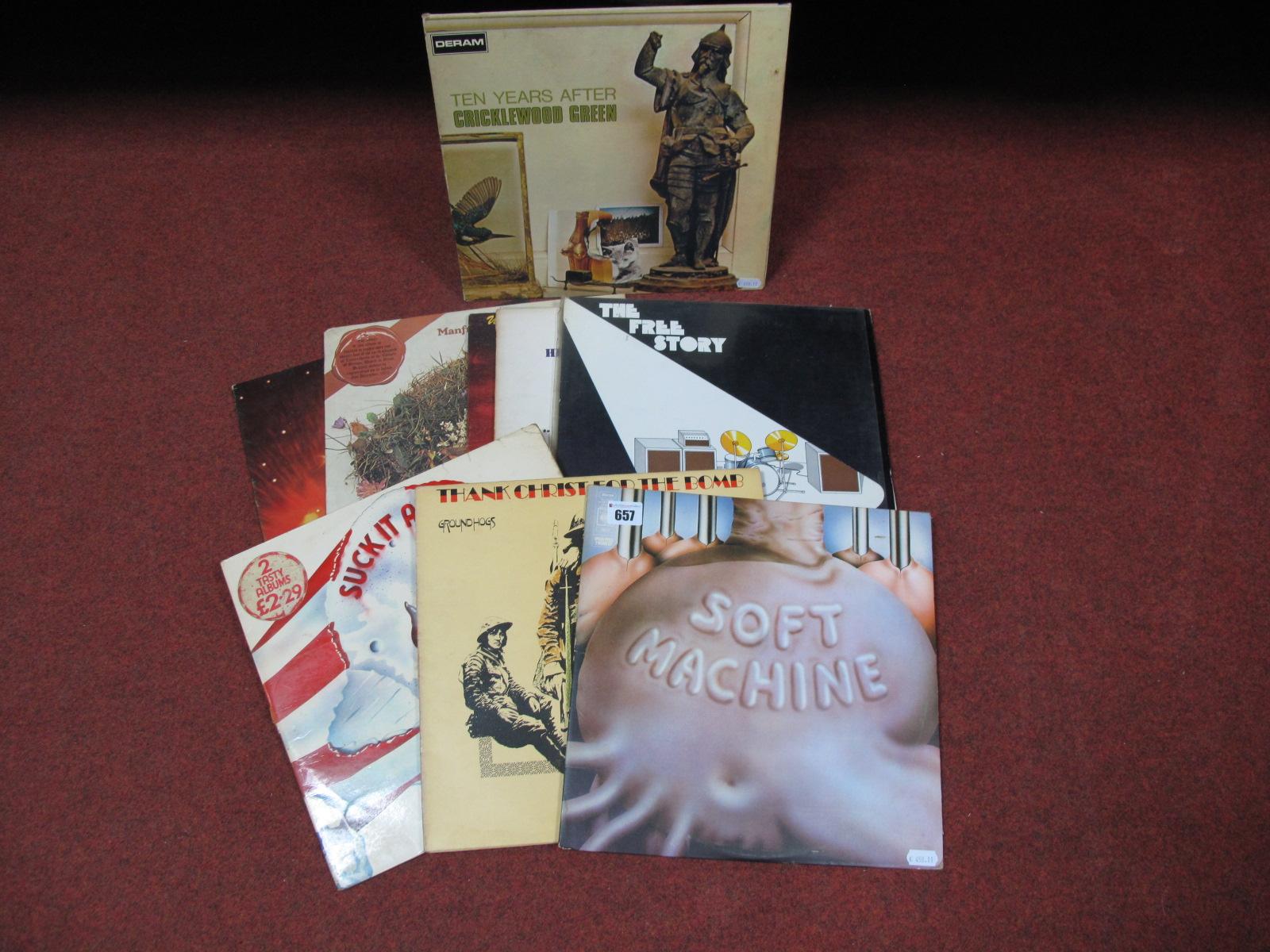 Lot 657 - Prog/Rock LP's - Soft Machine 'Six', Ten Years After 'Cricklewood Green' (Deram, stereo SML 1065