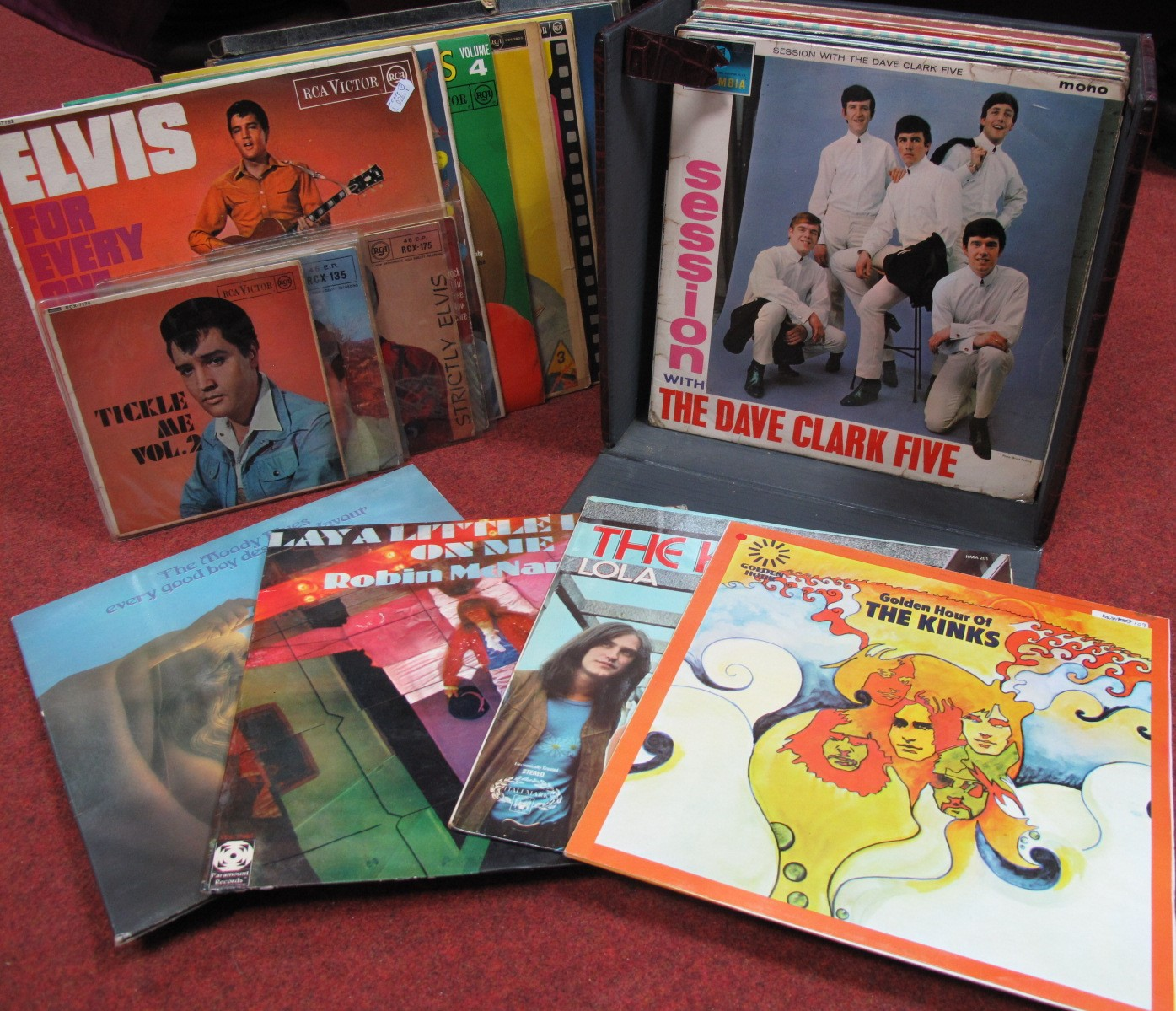 Lot 631 - Elvis Interest - A collection of LP's, EP's and box set to include Tickle Me Vol 2, For Every One,