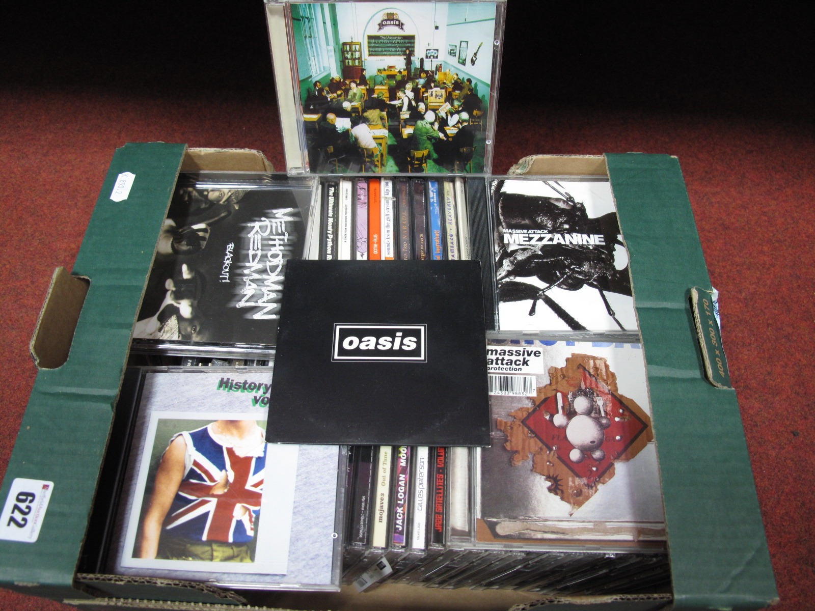 Lot 622 - A Collection of Over Sixty CD's (Promo Only/'Not For Sale' Issues) - Oasis 'Masterplan' and Oasis