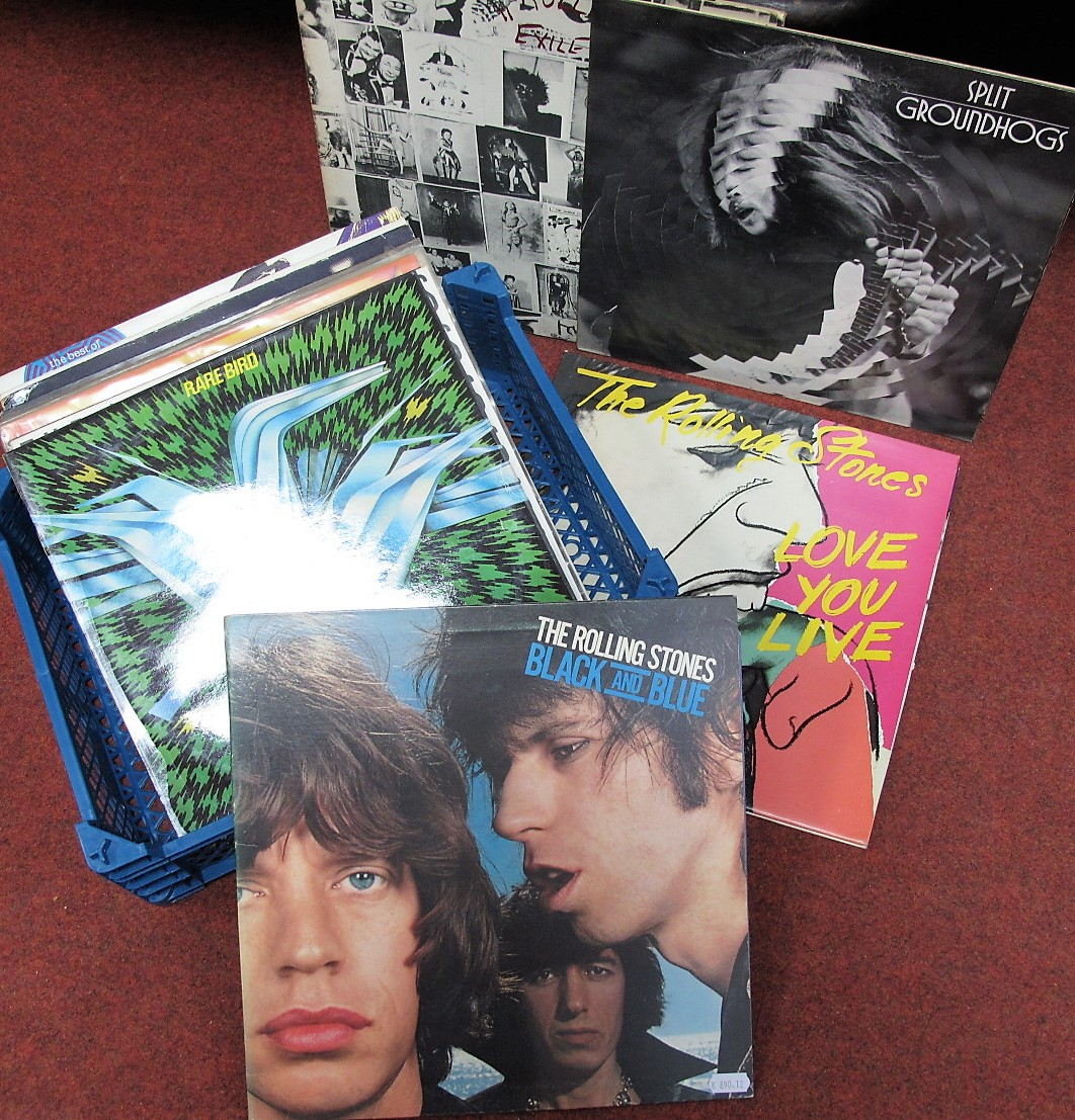 Lot 652 - 1960'S /70's UK Interest - Rolling Stones (Love You Live, Black and Blue, Exile on Main Street,
