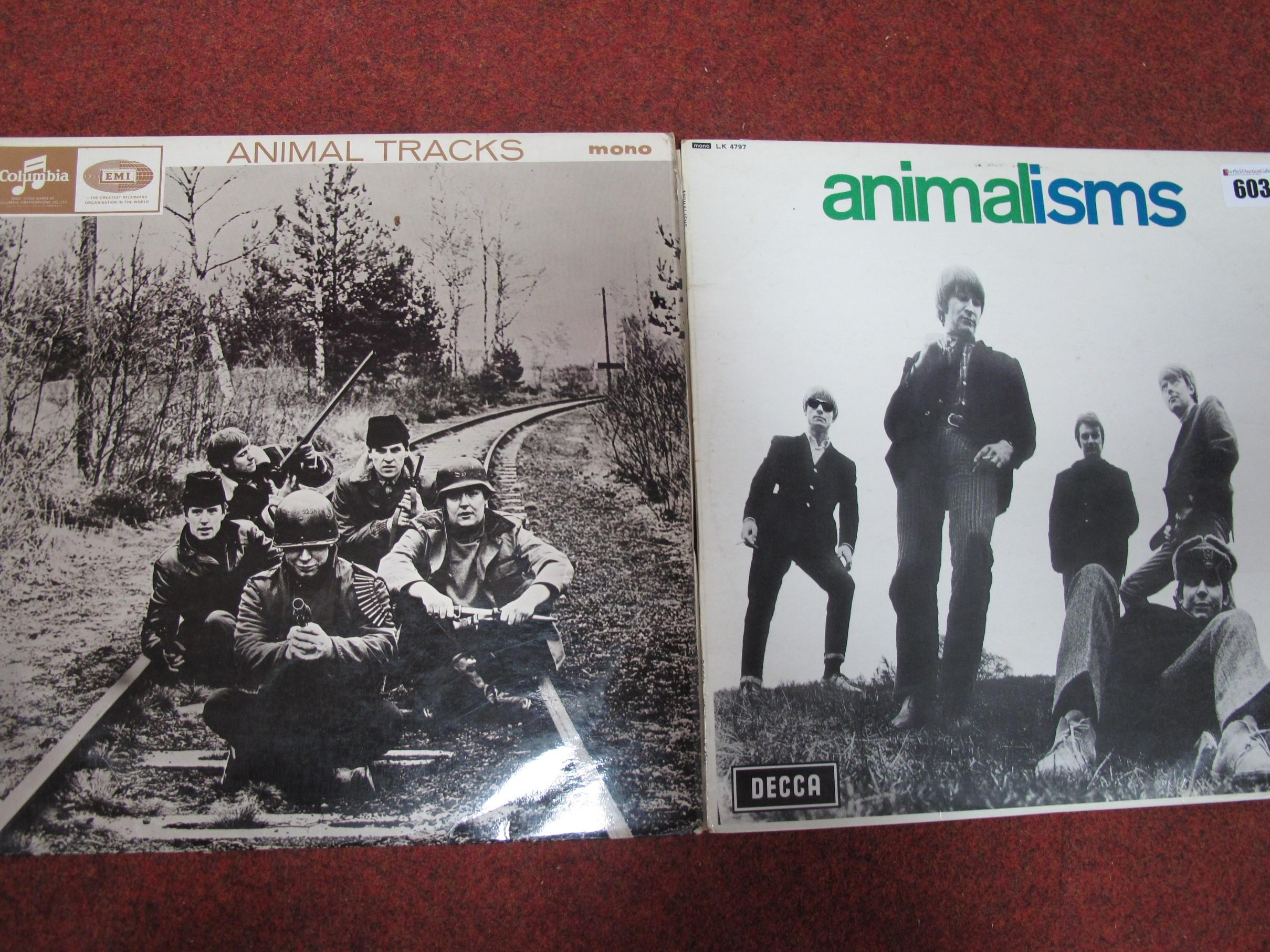 Lot 603 - The Animals: 'Animal Tracks' LP, 1965, blue/black Columbia, Mono 33SX 1708, -1/-1 matrix,