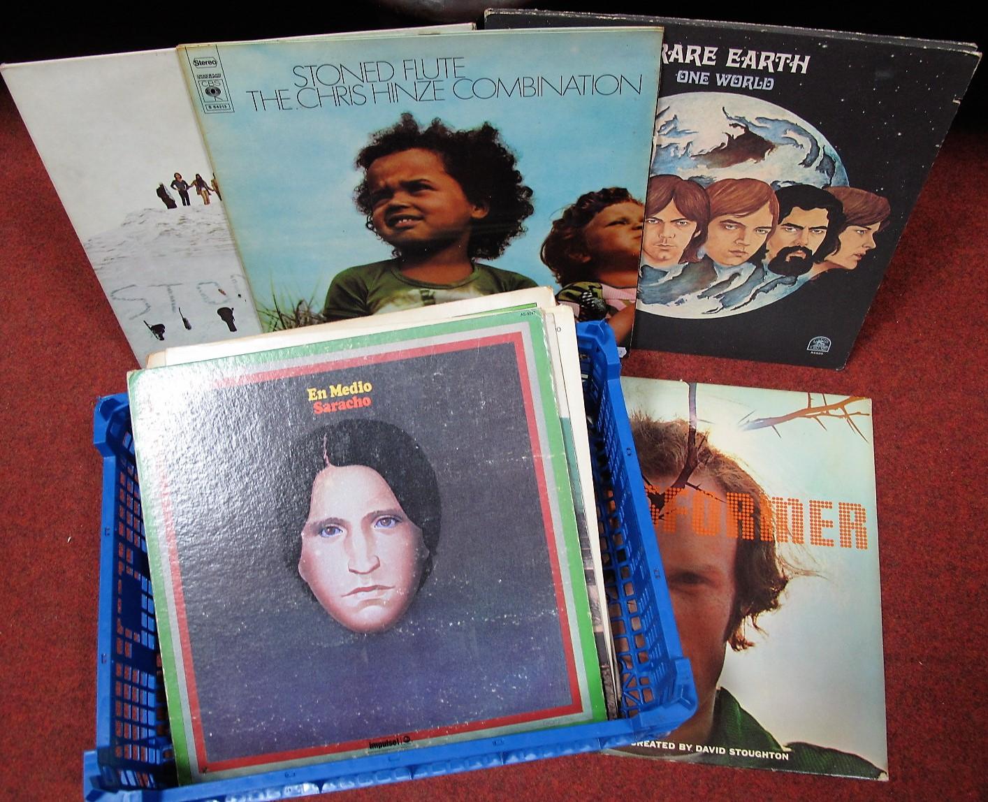 Lot 650 - Prog/Rock/Funk - Charisma 'Disturbance' two LP compliation v/a; The Chris Hinze Combination '