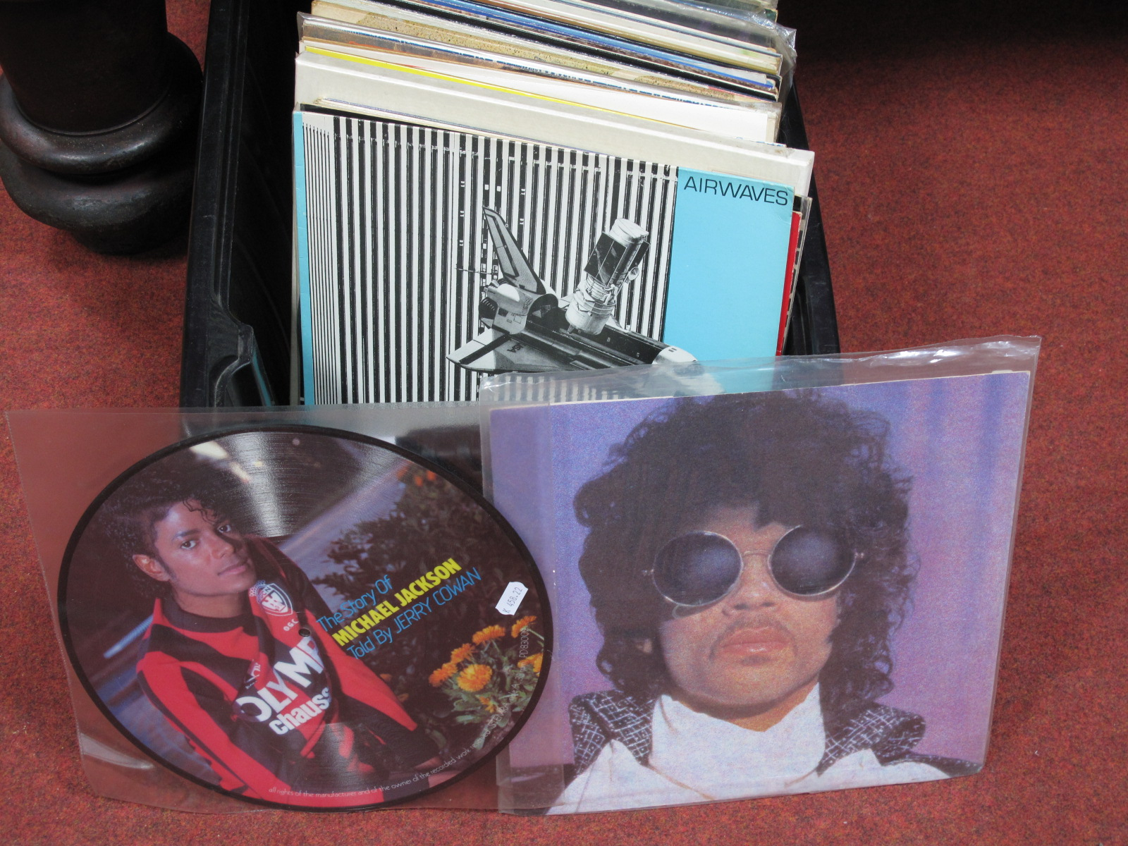 """Lot 632 - A Quantity of LP's, 12"""" Singles etc. to include Michael Jackson (picture disc noted), Prince, Soft"""