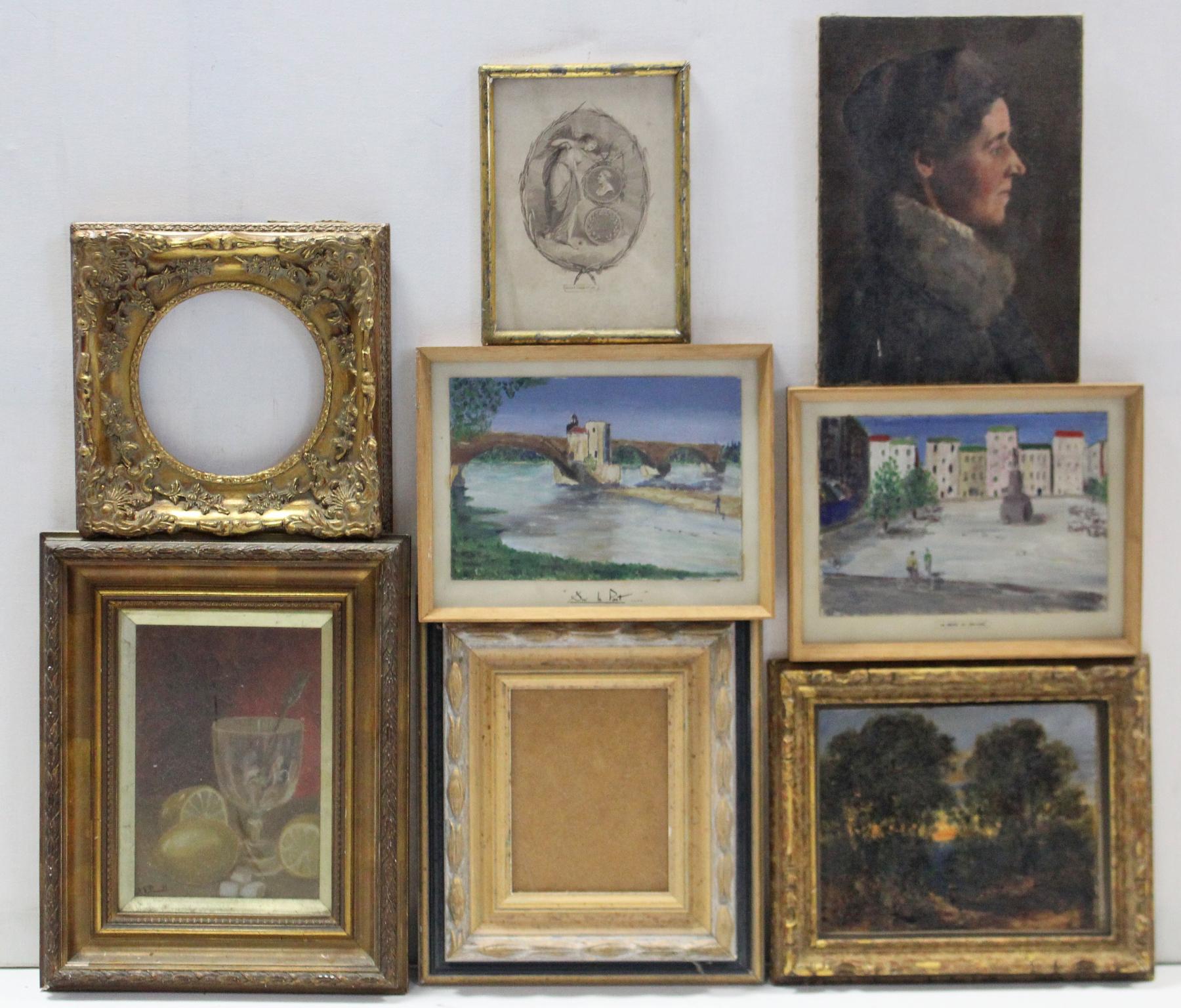 Lot 29 - Various decorative pictures & picture frames.
