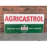 Vintage Agricastrol aluminium sign