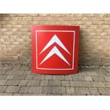 Citroen Dealership Advertising Sign
