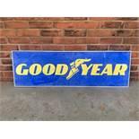 Goodyear Tyres Aluminium Sign