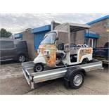 Piaggio Tuk Tuk Type Street Food Van, Fitted with Canop