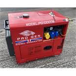 Pro Gen Model PG10000W 8KVA Diesel Generator Set