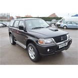 Lot 12 - 2004/54 MITSUBISHI SHOGUN SPORT WARRIOR TD *NO VAT*