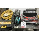Mixed lot of various hand and power tools and equipment - as pictured