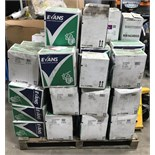 Pallet Evans Vandodine cleaning products, as listed