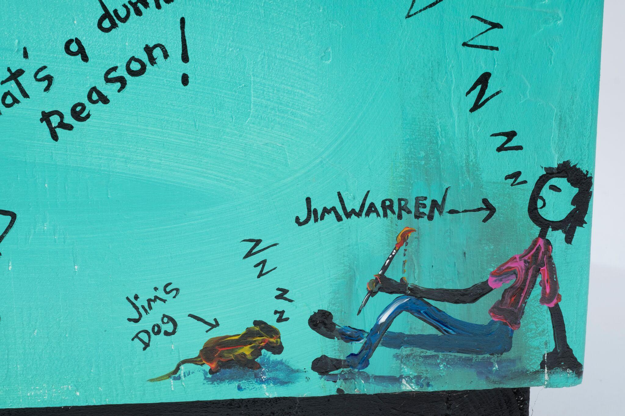 Lot 22 - Jim Warren -The Dog Decorator