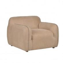 Lot 3146 - Choka Easy Chair-Scuff L Bone The Choka Is Packed Full Of Comfort Blanket Stitching Along The