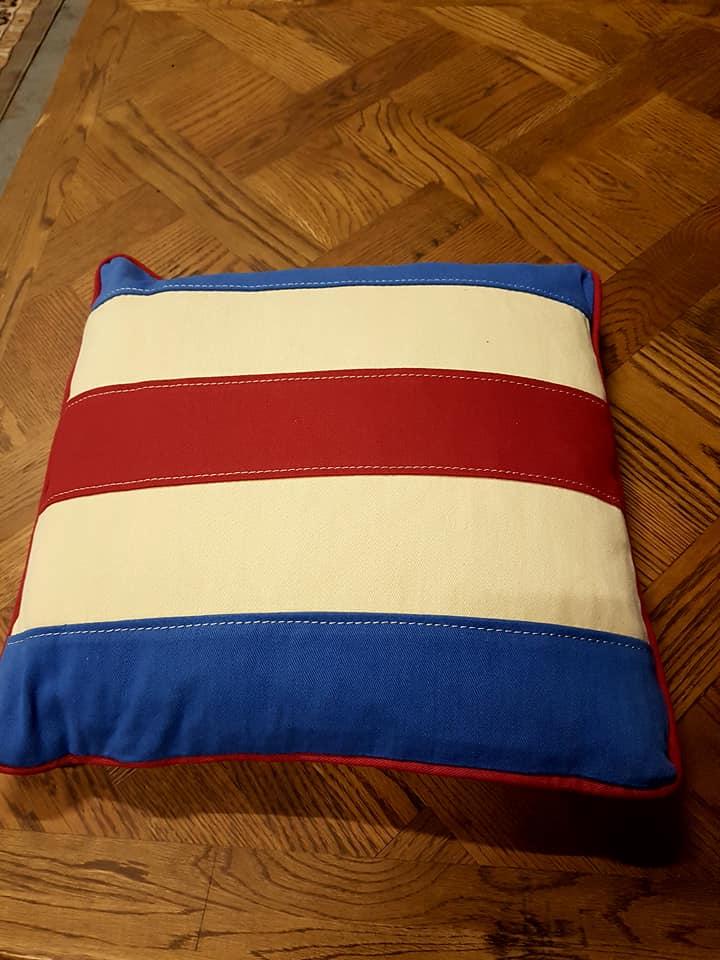 Lot 3331d - Blind Sempahore C Cushion Medium 43cm