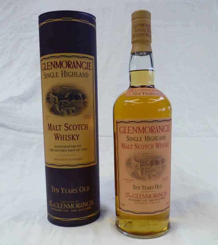 1 Bottle Glenmorangie 10 Year Old Single Malt Whisky 1