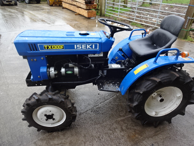 Small Tractor Top Link : Iseki tx f wd twin cylinder compact tractor with
