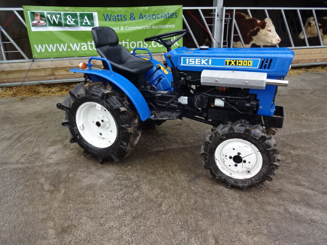 Small Tractor Top Link : Iseki tx wd twin cylinder compact tractor with