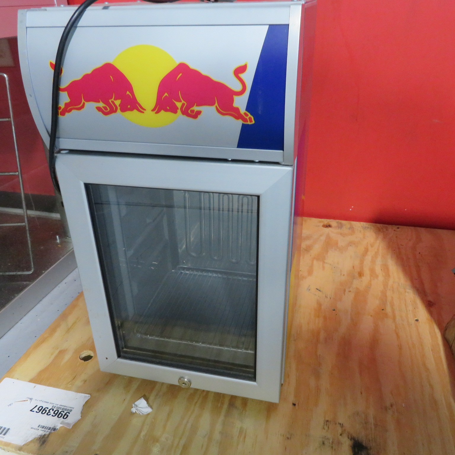 RED BULL COUNTERTOP REFRIGERATOR