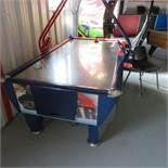 Fast Track By Sam 8' SS top Coin Operated Air Hockey Table