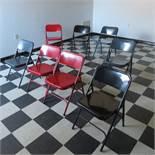 (9) Folding Chairs