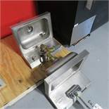 (2) STAINLESS STEEL HANDSINKS