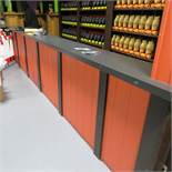 15' Formica Top Counter