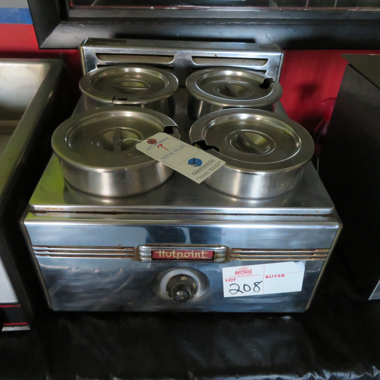 Hot Point Electric Counter Top Soup Warmer