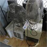 {LOT} FANS, AC, DEHUMIDIFIER