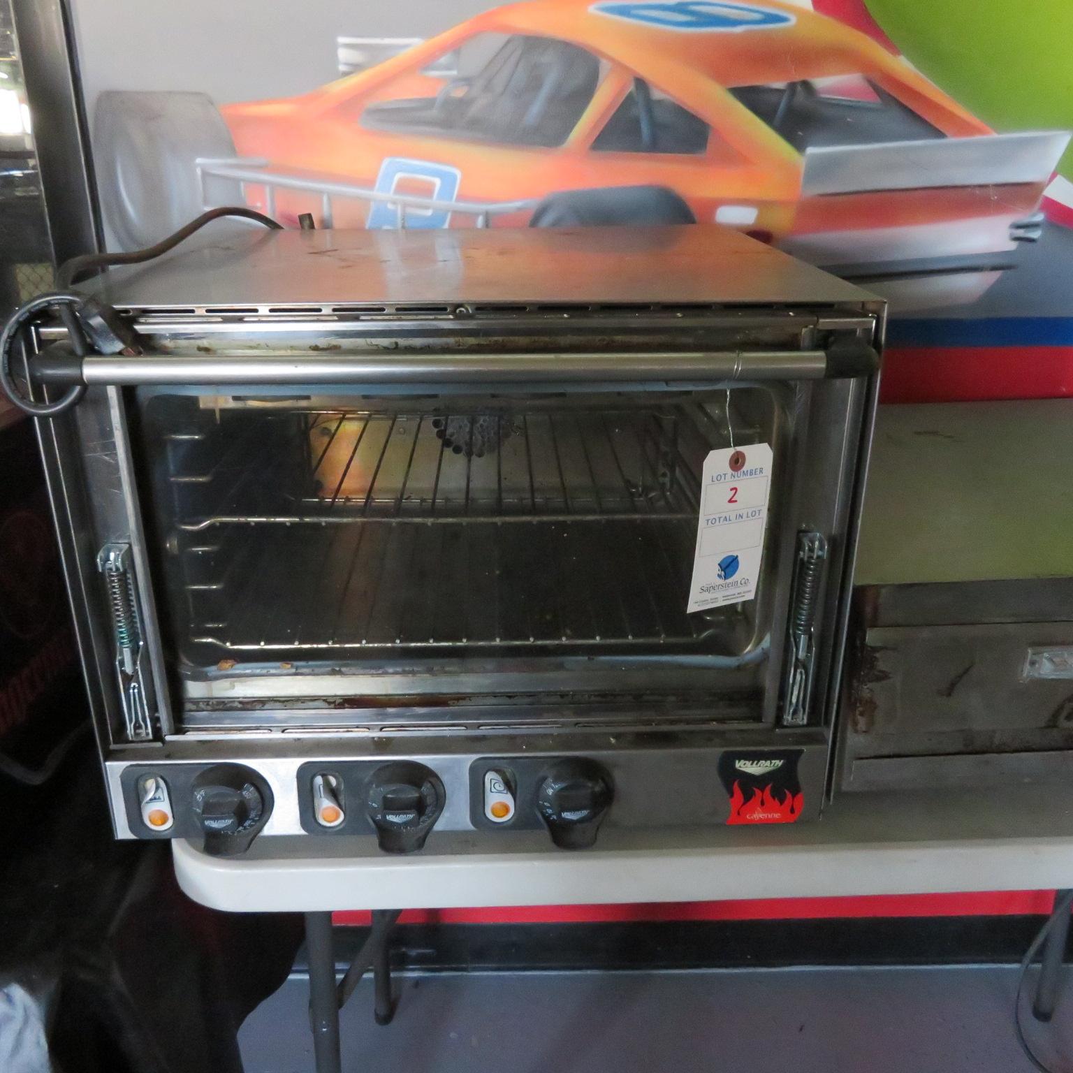 Volrath Kyan Countertop Glass Door Oven