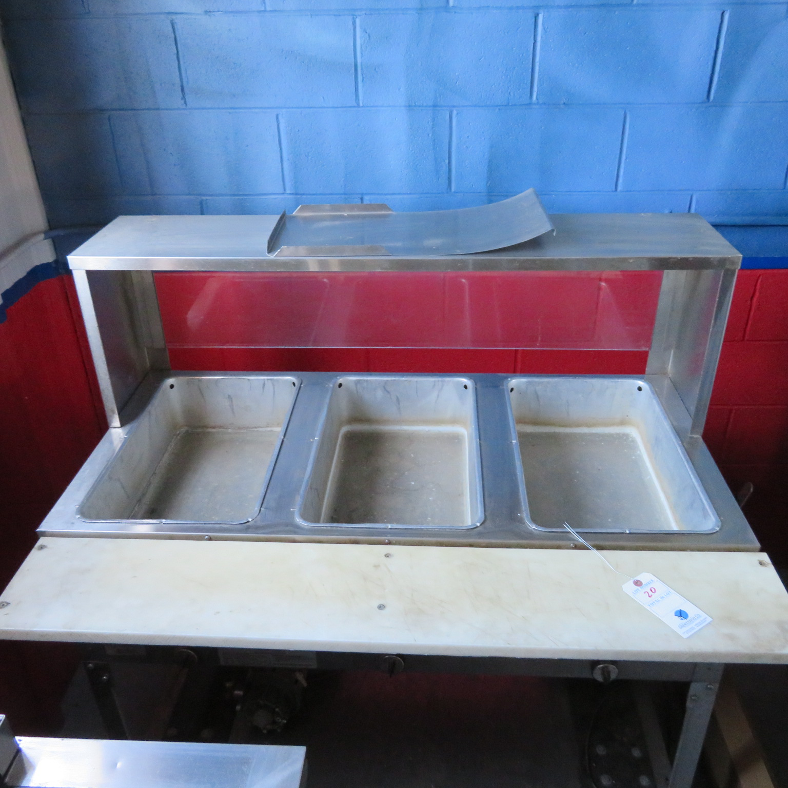 Supreme 3 Full Pan Portable Electric Steam Table