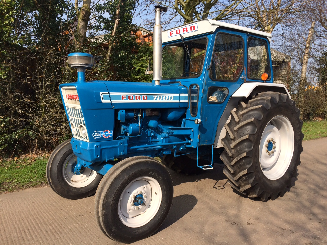 ford rubber craig tractors belt sale built linkage drive for pto from september ph with decal qld rare major restored