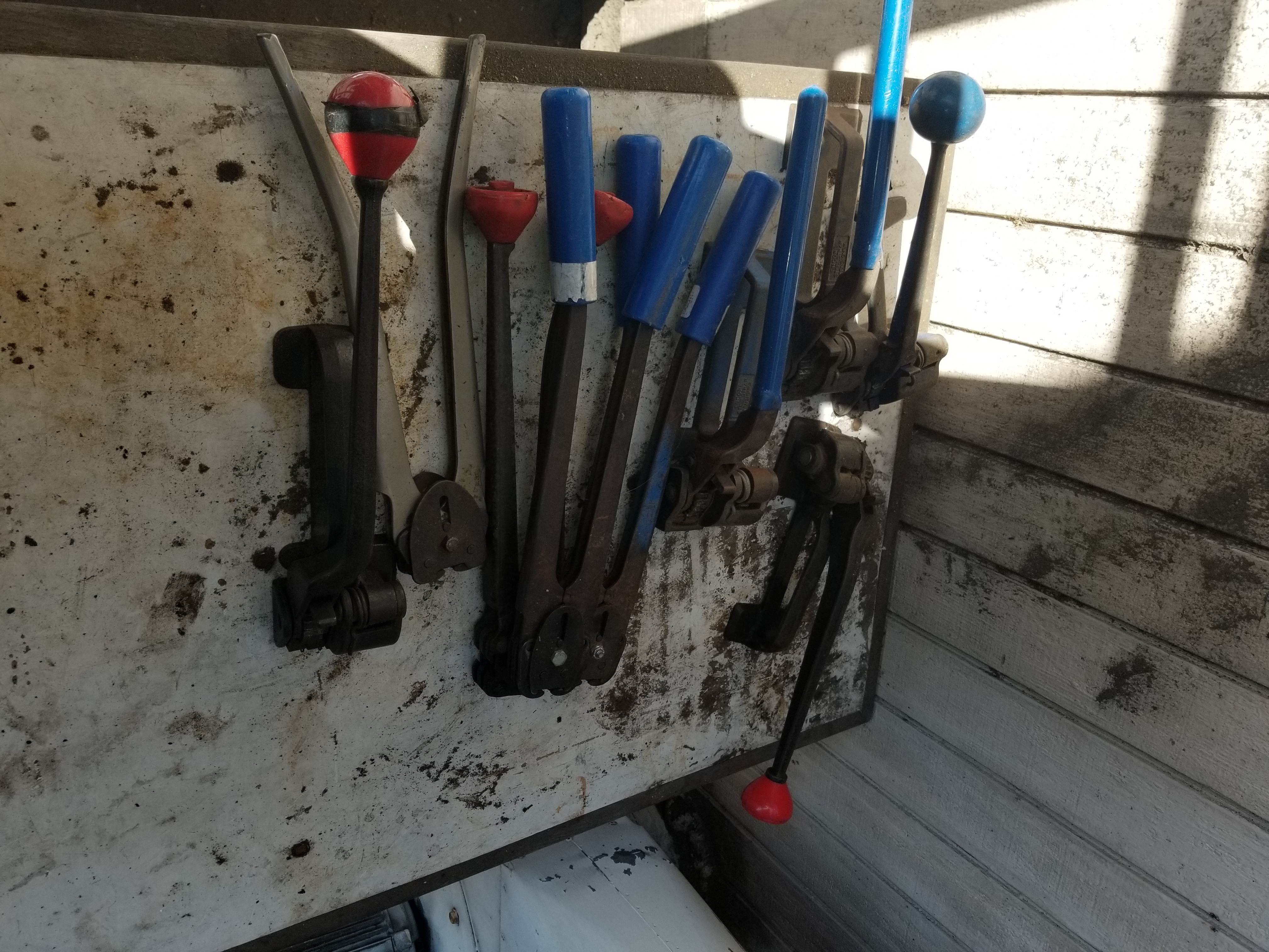 (Lot) Ratchets and Crimpers for steel band