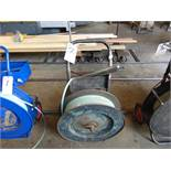 (Lot) Uline Band Strapping Cart & Contents