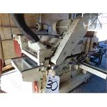"(2001) Seco mod. SK-6105, 24"" Dbl. Surface Planer w/ Infeed Conveyor, HP: 25 Top, 20 Bottom; S/N"