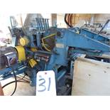 Newman Whitney S-282, Double Surface Planer w/ Infeed & Outfeed Conveyor, HP: 40 Top, 25 Bottom; S/N