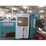 Nakamura Tome Methods Slant 3 CNC Turning Center w/ Fanuc 11T CNC Controls, 3-Jaw Chuck, Turret,