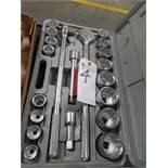 Socket Wrench Set, 3/4'' Drives, 7/8'' - 2''