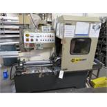 Soco mod. MC360 NFA Automatic Cold Saw w/ Infeed Conveyor, Soco Controls & Dust Collector; S/N n/a
