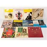 VINYL RECORDS, CLASSICAL. Barbirolli- Elgar Symphony no 1, HMV, ASD 540, (red semi label). Stader-