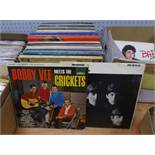 VINYL RECORDS. The Beatles- With the Beatles, Parlophone PMC 1206, mono, The Beatles for Sale,
