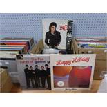 VINYL RECORDS. A small selection of albums, mixed genre and artists to include Manfred Mann, Shirley