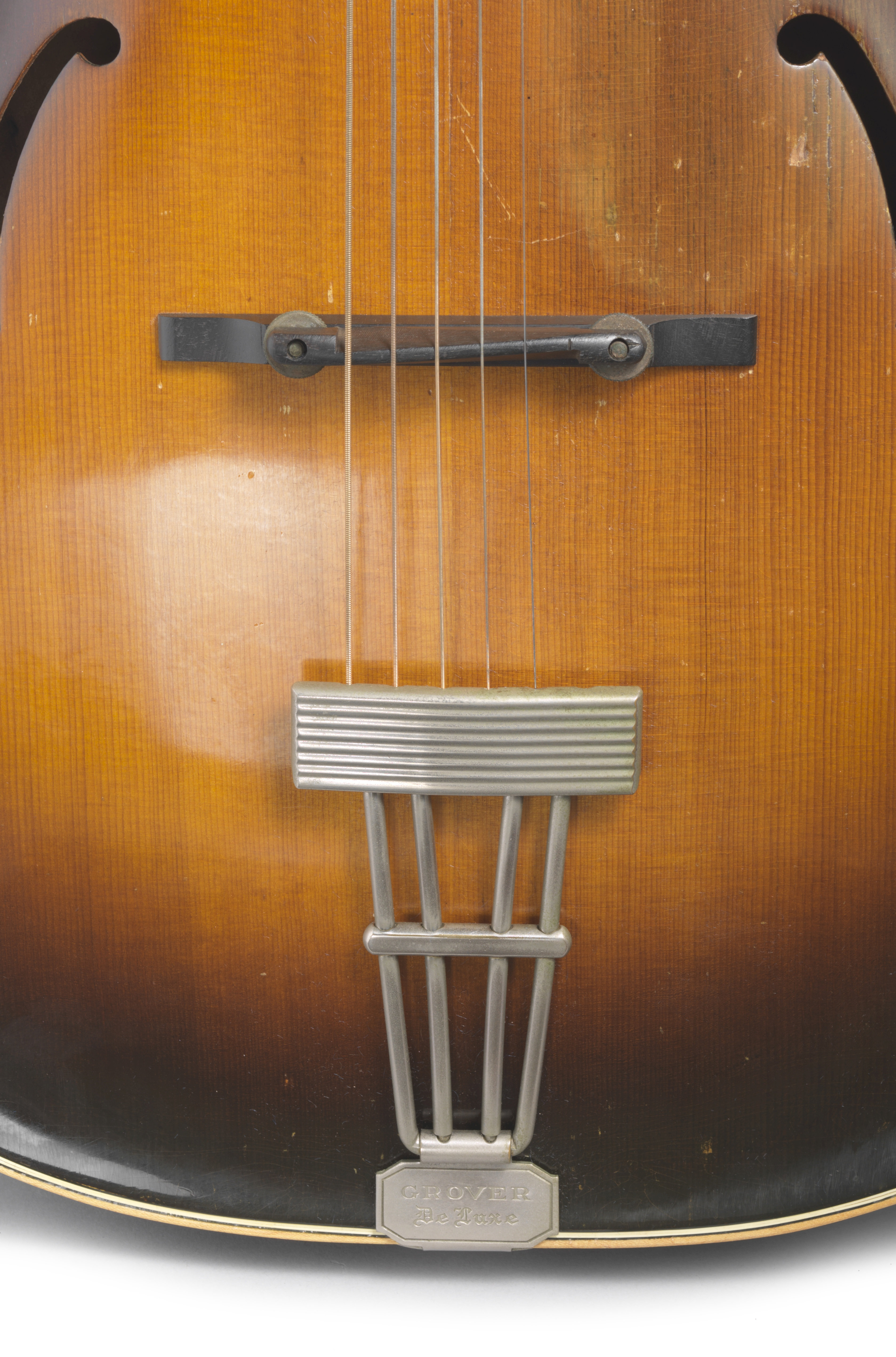 Lot 341 - A D'ANGELICO STYLE A ARCHTOP ACOUSTIC GUITAR OWNED AND PLAYED BY JERRY GARCIA