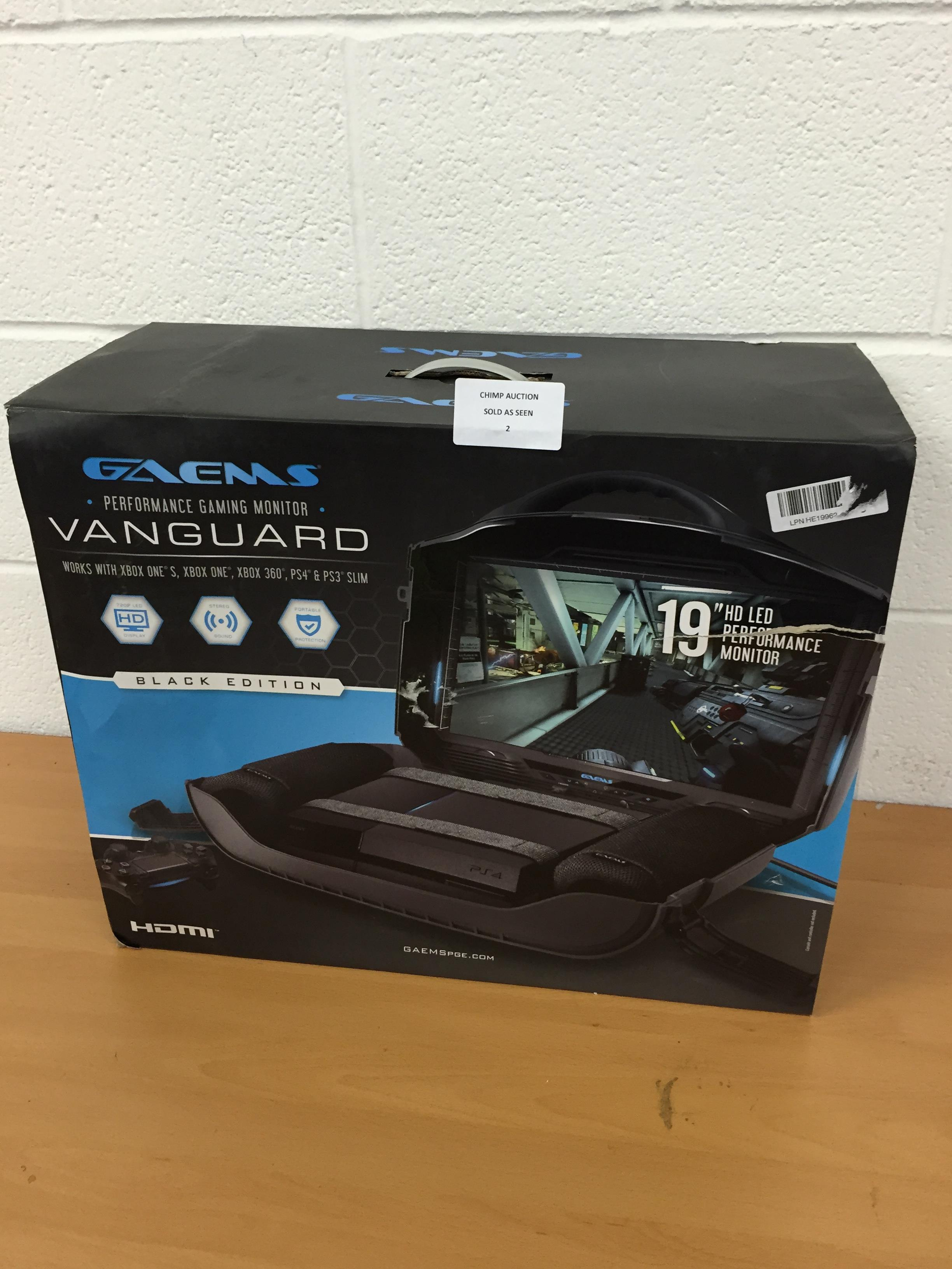 Lot 2 - Gaems Vanguard Personal Gaming Sytem (PS4/ Xbox One) RRP £599.99.