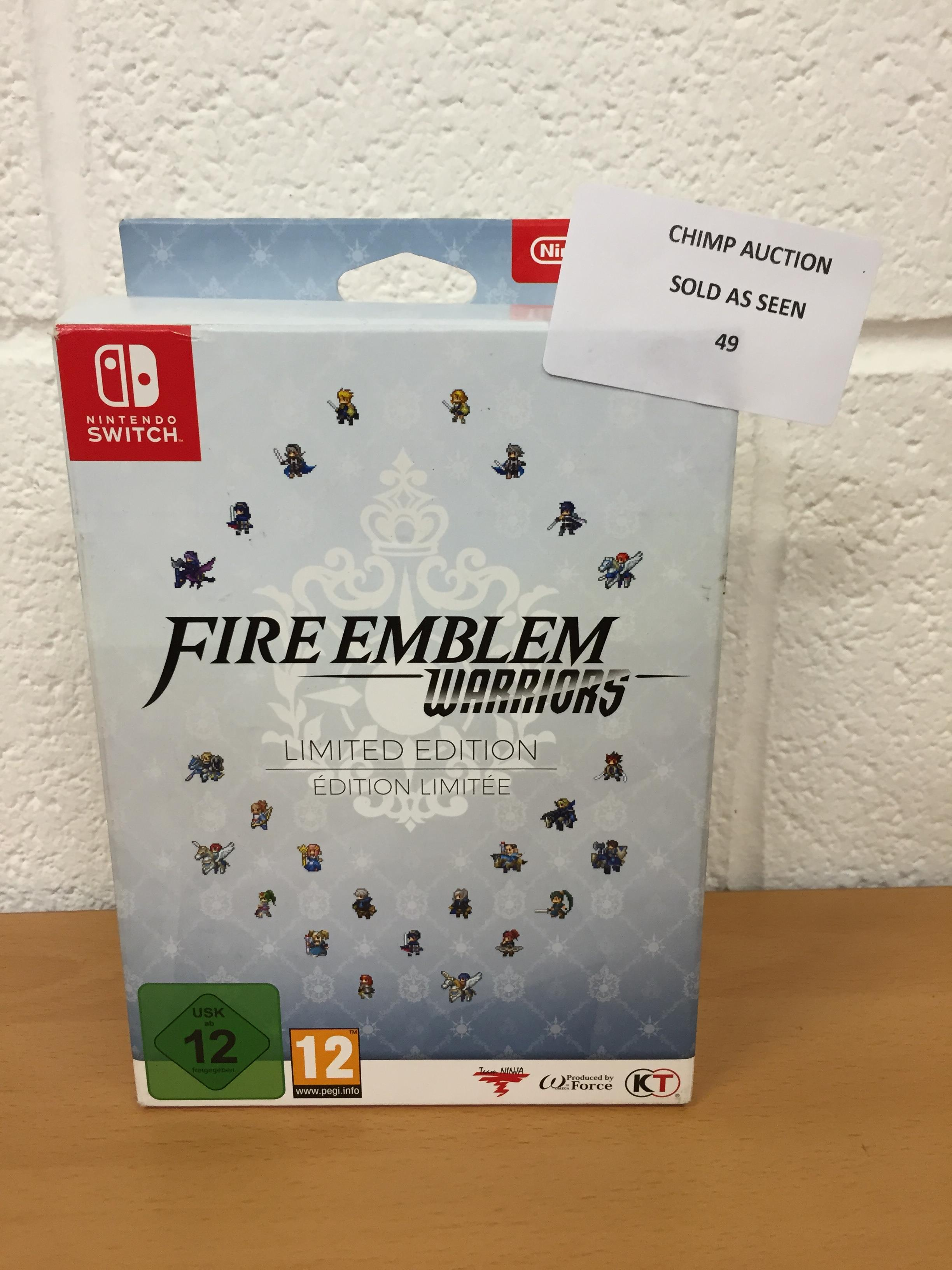 Lot 49 - Fire Emblem Warriors Limited Edition (Nintendo Switch) RRP £79.99